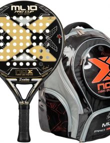 Pala Nox ML10 Pro Cup Black + Mochila