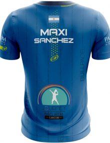 Camiseta Bullpadel Artigas Maxi Sanchez Azul