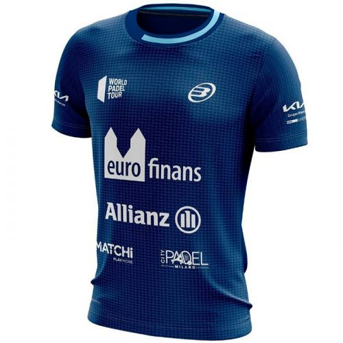 camiseta bullpadel micay azul paquito