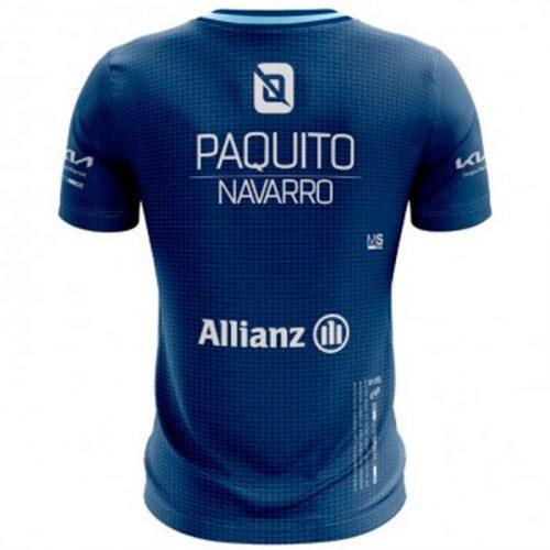 camiseta bullpadel micay azul paquito navarro