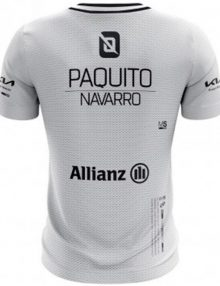 camiseta bullpadel micay gris paquito navarro
