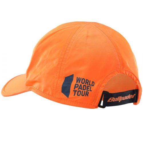 Gorra Bullpadel WPT Naranja 21