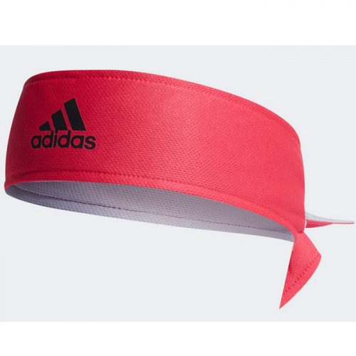 Banda Cabeza Adidas Rosa-Gris