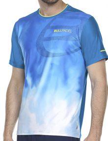 Camiseta Bullpadel Aranju Azul Atomico