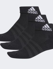 Calcetines Adidas Cortos Negro-Pack 3