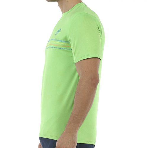 Camiseta Bullpadel Caicedo Limon Fluor Vigore 20