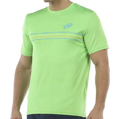 Camiseta Bullpadel Caicedo Limon Fluor Vigore 2020