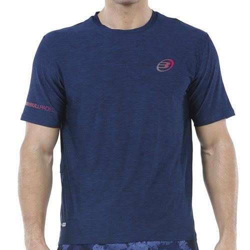 Camiseta Bullpadel Union Azul Marino