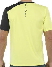 Camiseta Bullpadel Unut Amarilla Azufre 2021