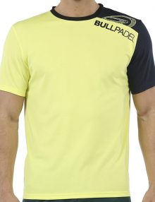Camiseta Bullpadel Unut Amarilla Azufre