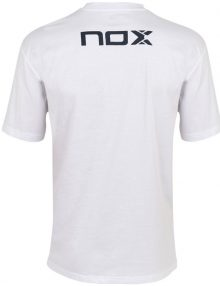 Camiseta Nox Basic Blanca-Azul 21