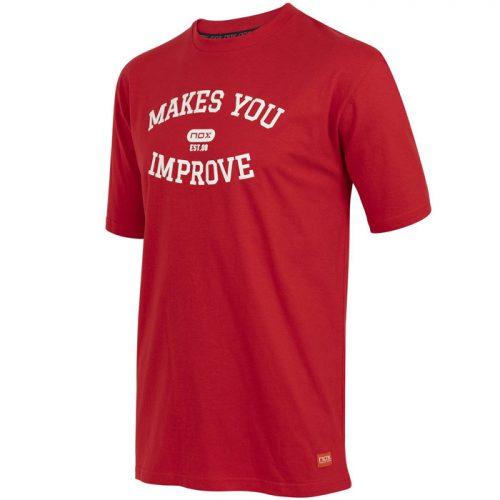 Camiseta Nox Basic Roja-Blanca 2021