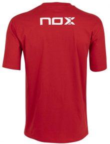 Camiseta Nox Basic Roja-Blanca 21