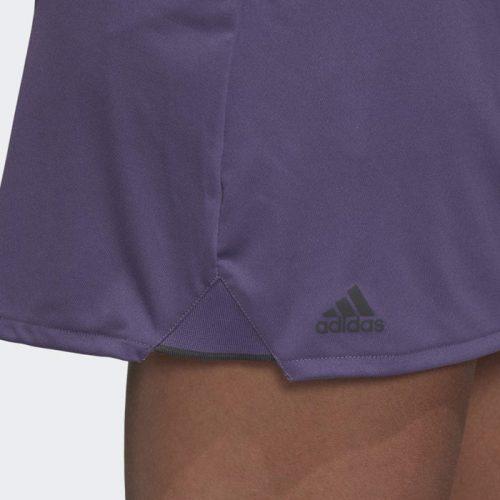 Falda Adidas Club Morada Detalle