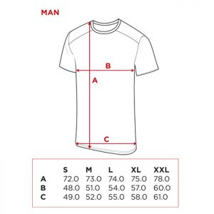 Medidas Camisetas NOX