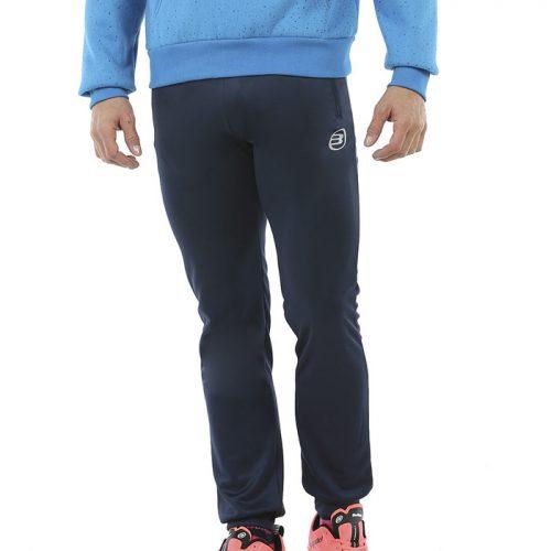 Pantalon Largo Bullpadel Riveris Azul Marino