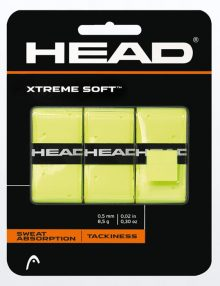 Blister Overgrips Head Xtreme Soft Amarillos
