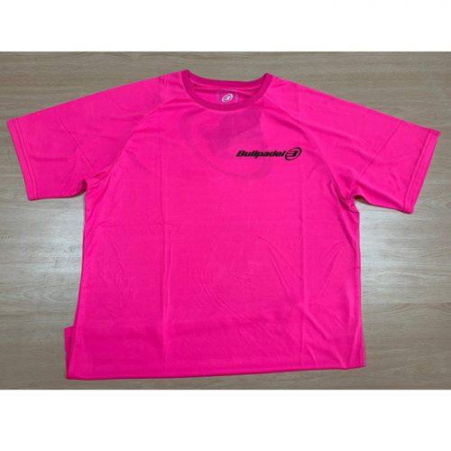 Camiseta Bullpadel Presente Rosa