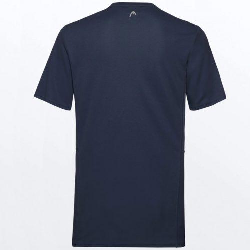 Camiseta Head Club Tech Azul Oscuro