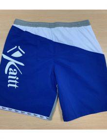Short Kaitt Azul-Blanco