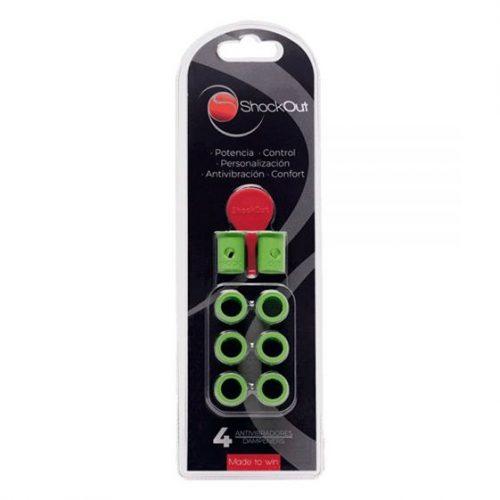 Antivibradores ShockOut color verde