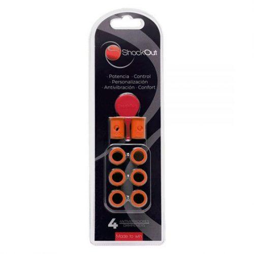 Antivibradores ShockOut color naranja