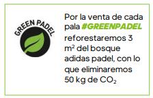 Adidas reforestará el bosque adidas padel con la venta de cada pala
