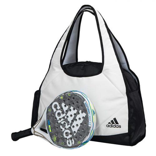 Bolso Adidas Big Weekend Blanco con pala