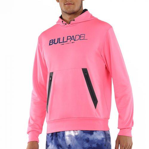 Sudadera Bullpadel Madaleta rosa