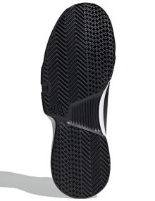 Zapatilla Adidas Gamecourt negras suela