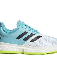 Zapatilla Adidas Solecourt M PrimeBlue Perfil