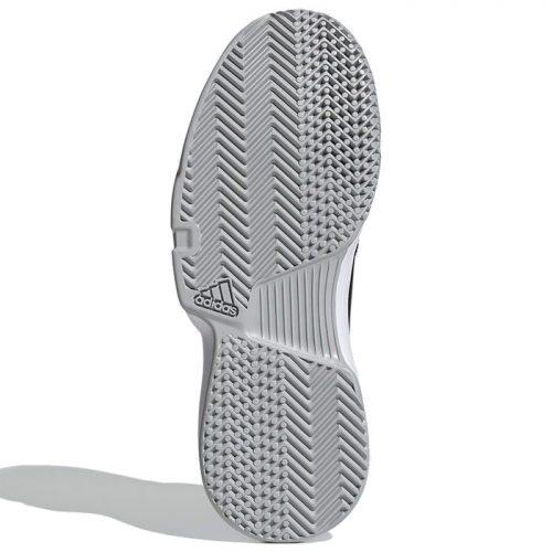 Zapatillas Adidas Gamecourt Woman negras suela