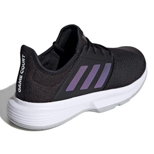 Zapatillas Adidas Gamecourt Mujer Negras 2021