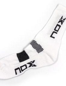 Calcetines Nox Blancos-Grises