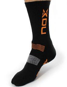 Calcetines Nox Negro-Naranja