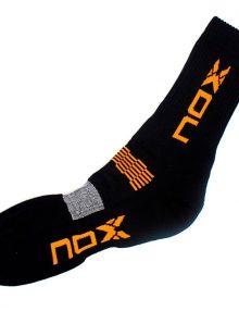 Calcetines Nox Negros-Naranjas