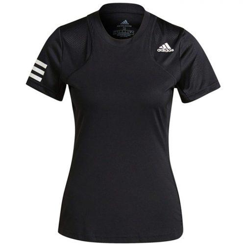 Camiseta Adidas Club Negra Mujer 2021