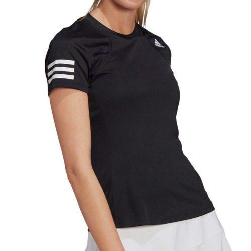Camiseta Adidas Club Negra Mujer 21