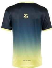 Camiseta Nox Pro Azul-Lima 21