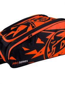 Paletero Dunlop Pro naranja-negro
