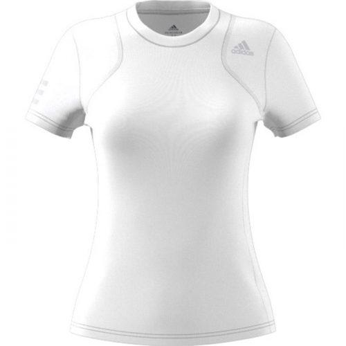 Camiseta de mujer Adidas Club blanca 2021