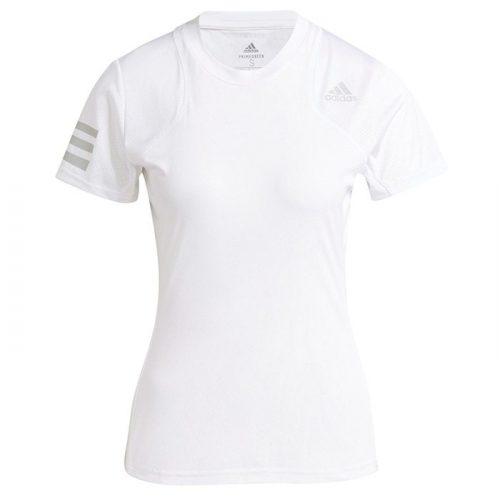 Camiseta de mujer Adidas Club blanca