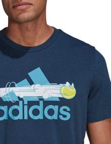 Camiseta Adidas Padel Cat Azul 2021