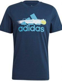 Camiseta Adidas Padel Cat Azul
