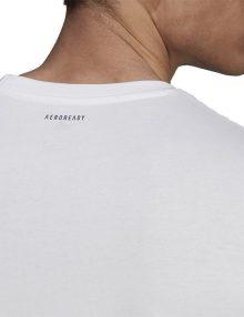 Camiseta Adidas Padel Cat Blanca 2021