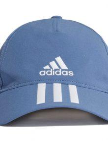 Gorra Adidas Baseball Aeroready 3 bandas azul 2021