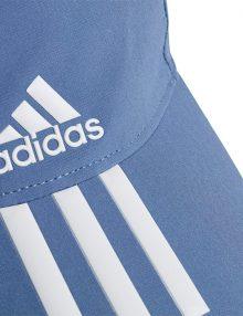 Gorra Adidas Baseball Aeroready 3 bandas azul