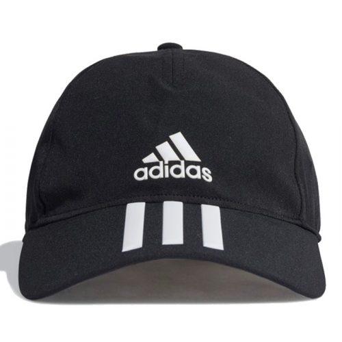 Gorra Adidas Baseball Aeroready 3 bandas negro 2021