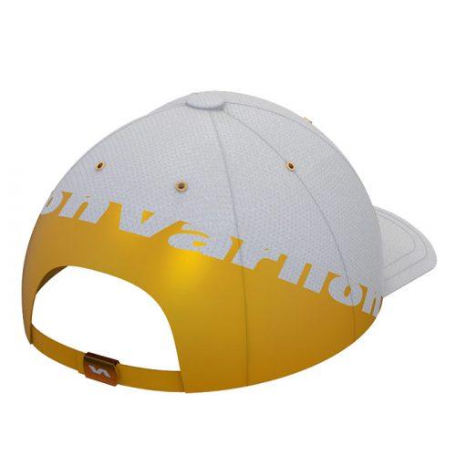 Gorra Varlion Ambassadors blanco y dorado