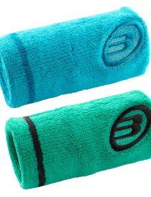 Muñequeras Bullpadel Azul y Verde